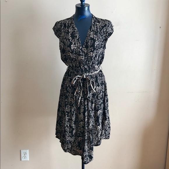 496cc63b5b1b Anthropologie Dresses & Skirts - Anthropologie Maeve Noronha Elephant Print  Dress